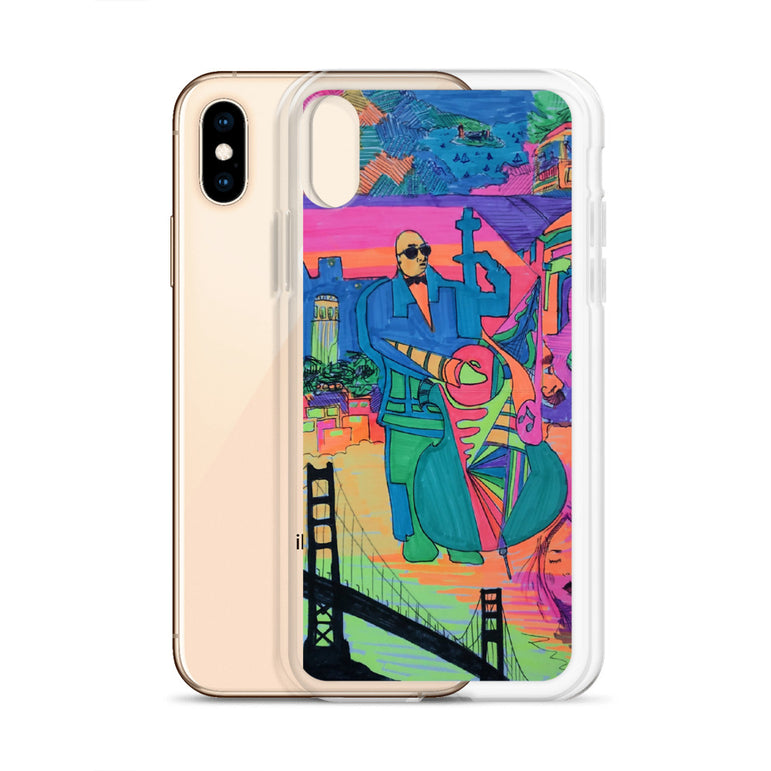 "A Nick Larson Original ""The Beauty of SF"" iPhone Case"