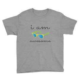 I Am Awesome Youth Short Sleeve T-Shirt