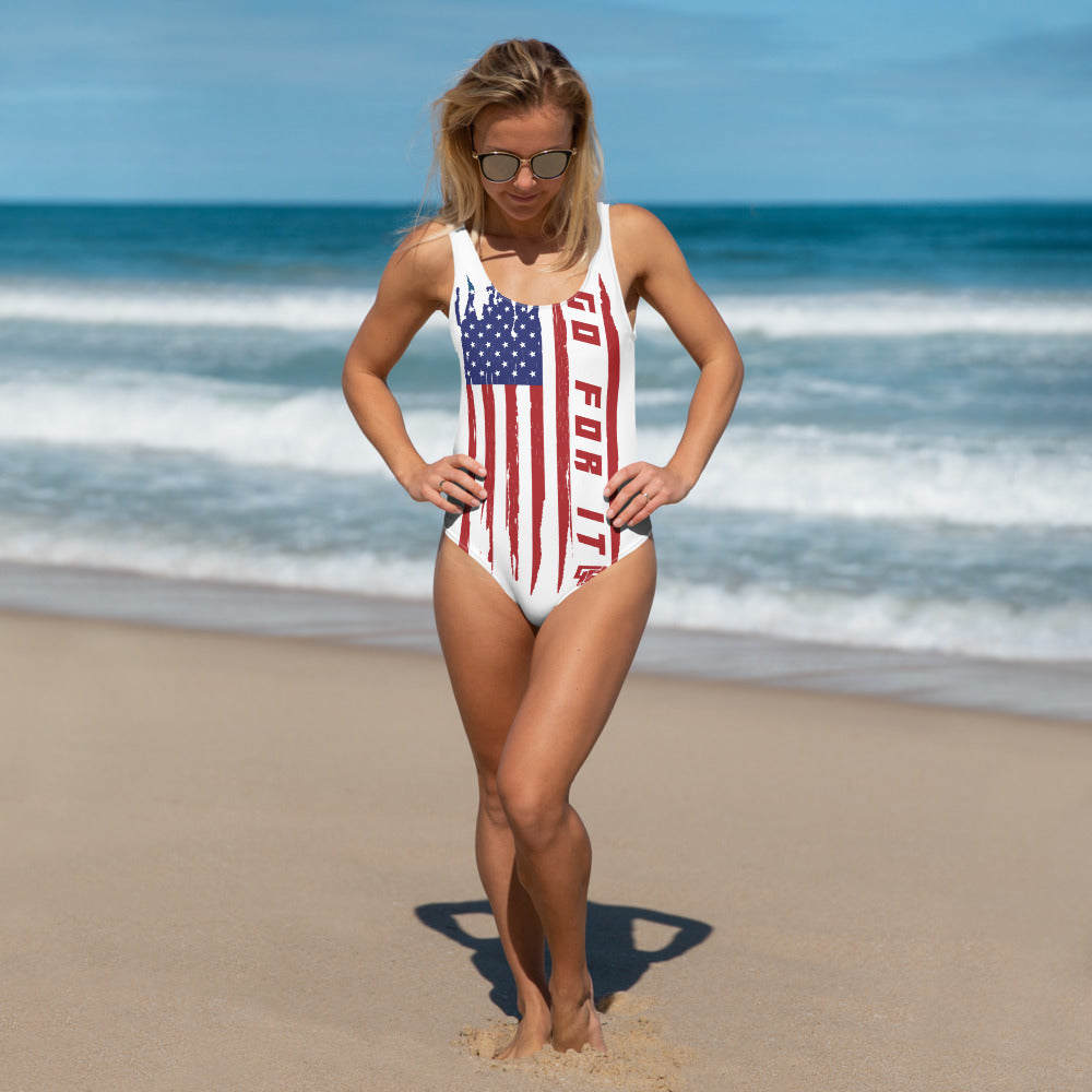 Ladies Flag One Piece