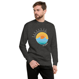 Salty Unisex Fleece Pullover
