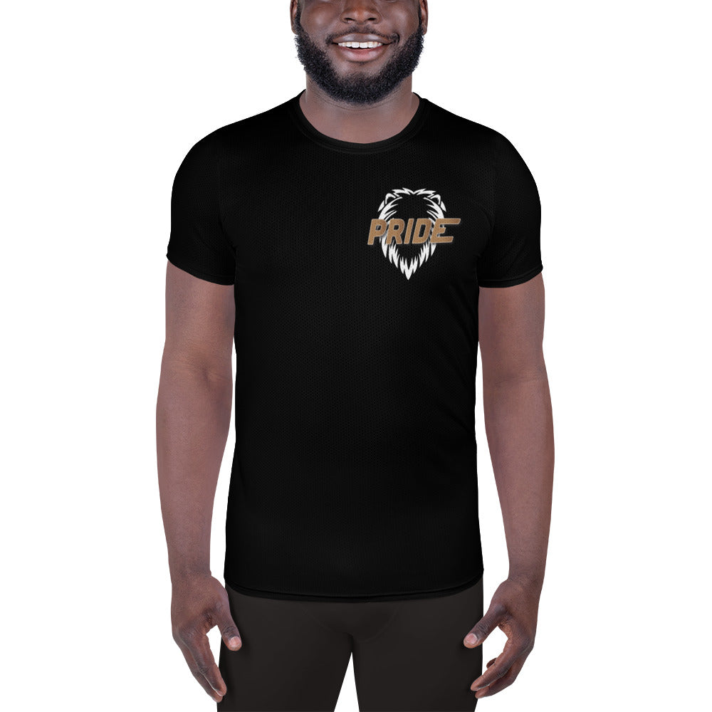 Black Hidden Lion T-shirt