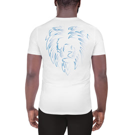 White & Blue Lion T-shirt