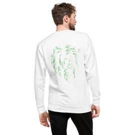 Green Lion Fleece Pullover