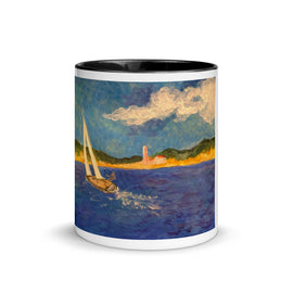 A Nick Larson Original Painting Mug