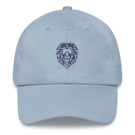 Purple & Blue Lion Hat