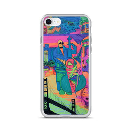 "A Nick Larson Original, ""The Beauty of San Francisco"" Glitter-Filled iPhone Case"
