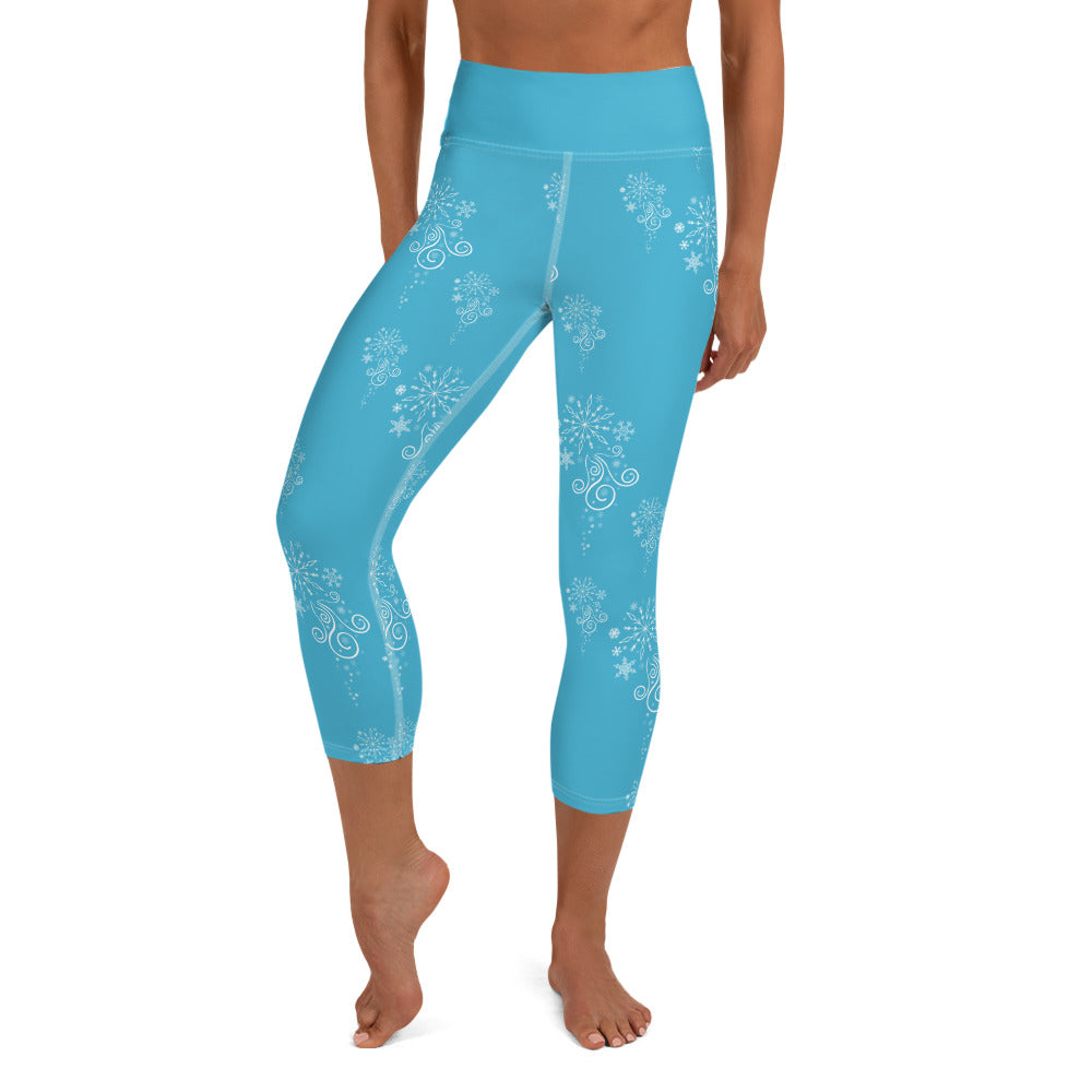 Flurry Yoga Capri Leggings