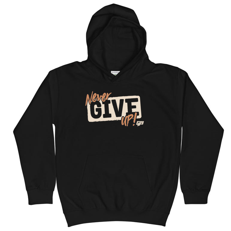 Kids Never Give Up Hoodie