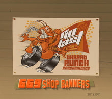Load image into Gallery viewer, STUDIO 669 MANCAVE BANNER-THROAT PUNCH