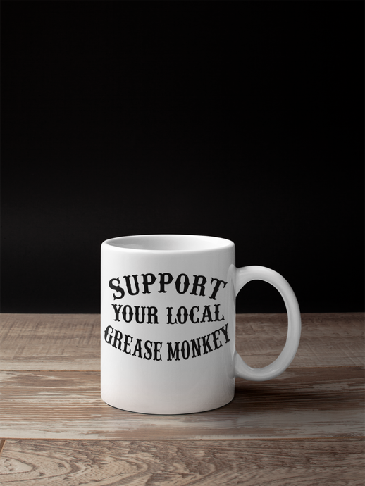 SUPPORT YOUR LOCAL  GREASE MONKEY CUP