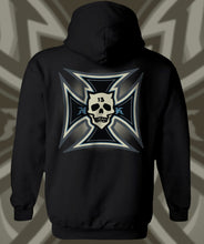 Load image into Gallery viewer, IRON KROSS HOODIE...BLUE