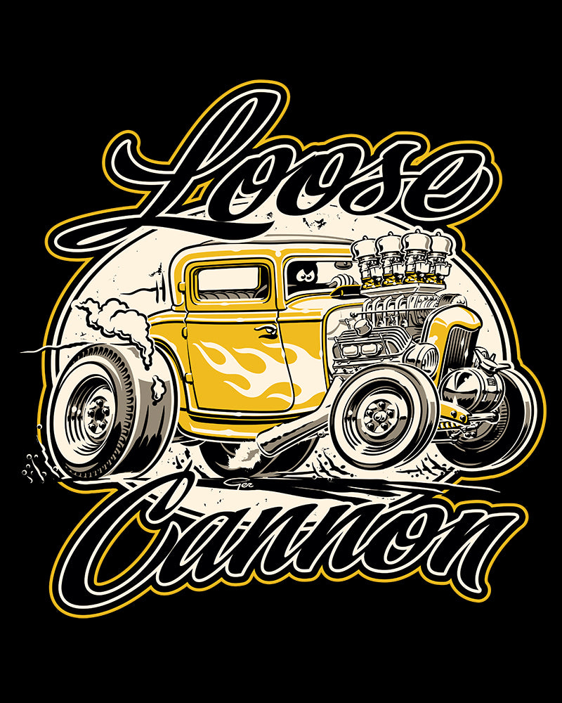 Loose Cannon Speed Shop (YELLOW)