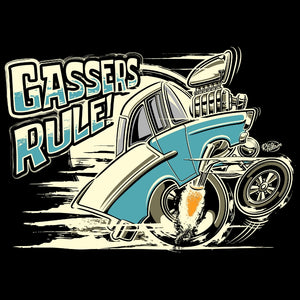 Gassers Rule 'Tooned Up Turquoise