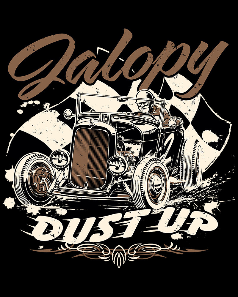 Jalopy Dust Up....brown