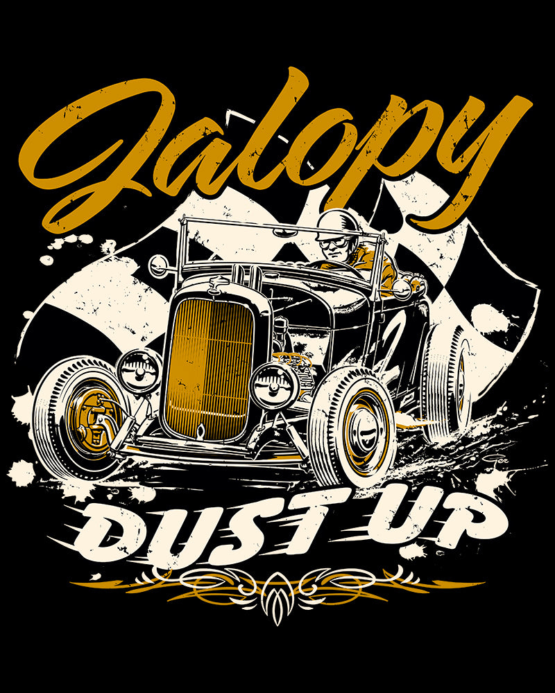Jalopy Dust Up Orange