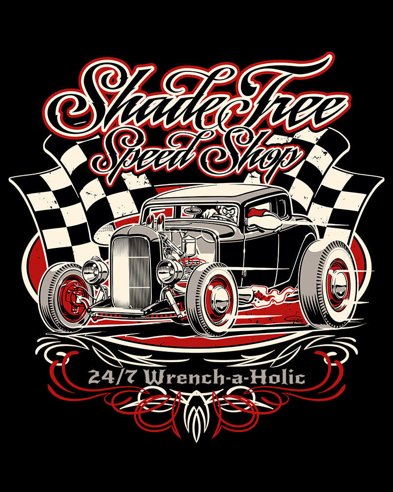 ShadeTree Speed Shop Winners Circle...red
