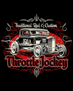 Throttle Jockey Coupe...Red