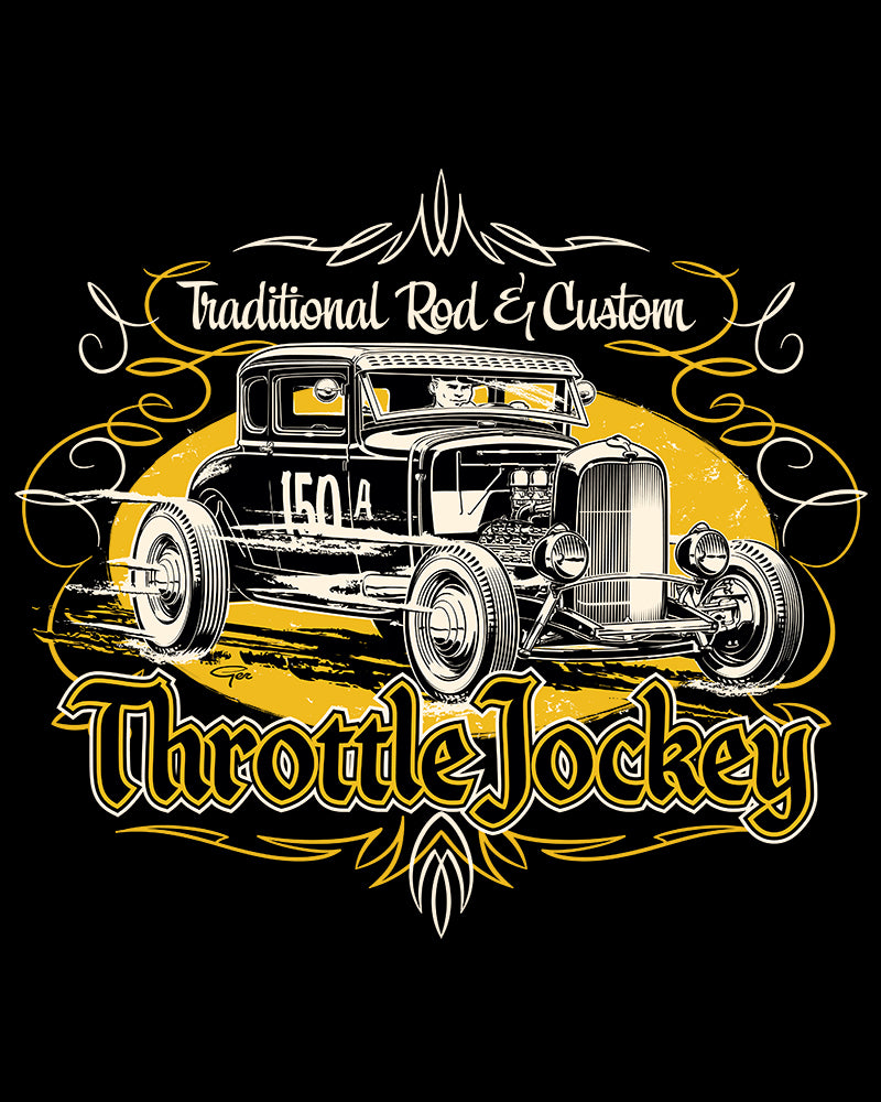 Throttle Jockey Coupe...yellow
