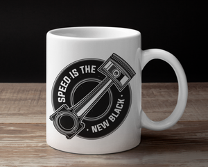 Speed is the New Black Coffee Cup