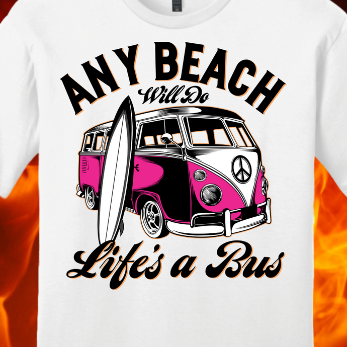 ANY BEACH WILL DO...PINK