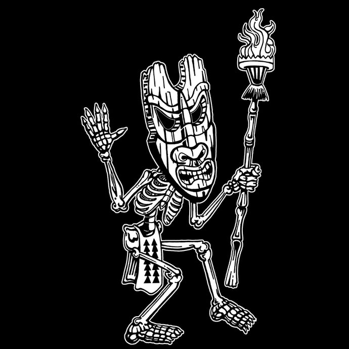 Tiki Mask Skeleton Dancer