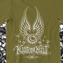 Load image into Gallery viewer, KUSTOM KULT FLYING EYEBALL (MILITARY GREEN)