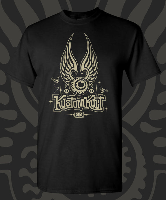 KUSTOM KULT FLYING EYEBALL (BLACK)