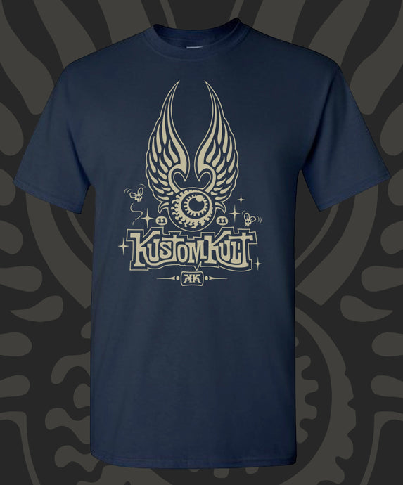 KUSTOM KULT FLYING EYEBALL (NAVY)