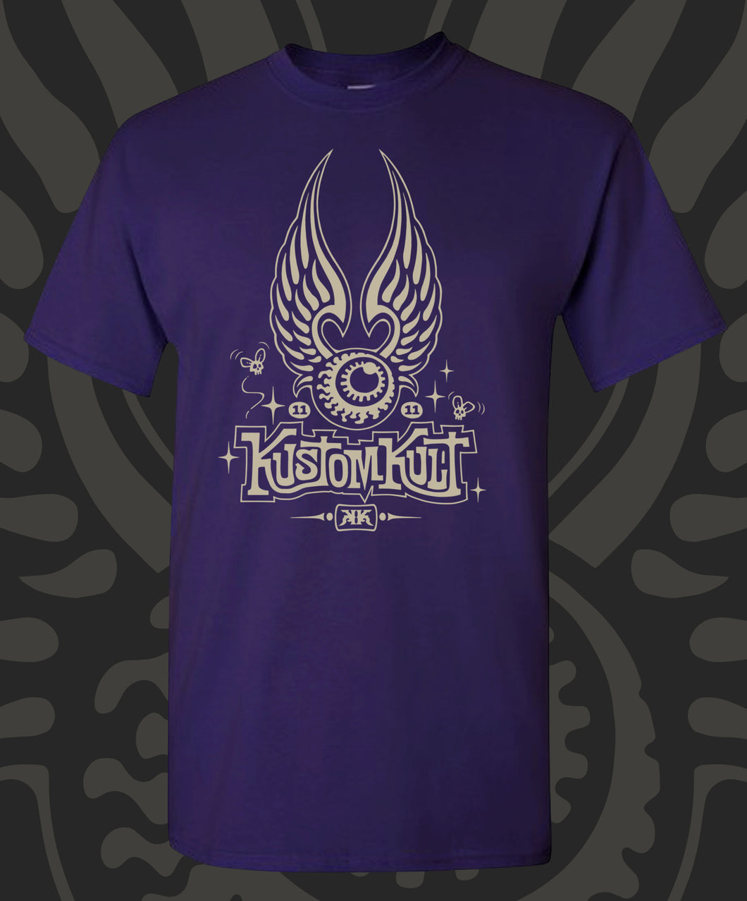 KUSTOM KULT FLYING EYEBALL (PURPLE)
