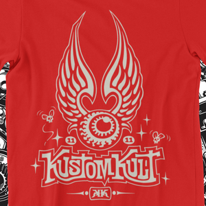 KUSTOM KULT FLYING EYEBALL ((RED)