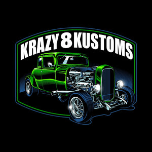 Krazy 8 Kustoms Coupe....Green