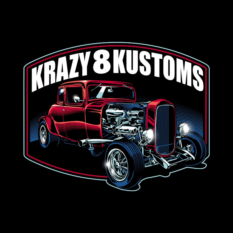 Krazy 8 Kustoms Coupe...Red