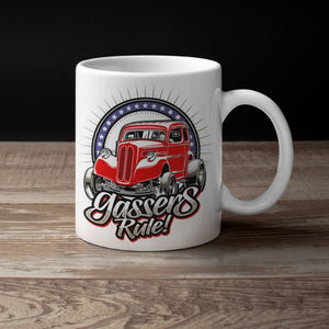 Gassers Rule! Anglia...Red White & Blue