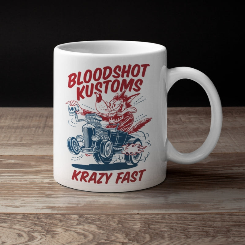 BloodShot Krazy Fast Wake me up cup