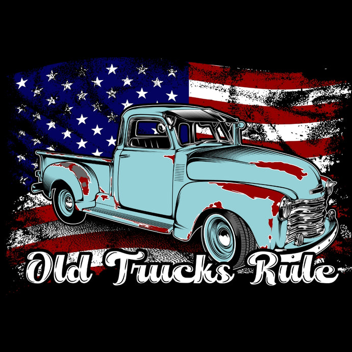 OLD TRUCKS RULE...Born in the U.S.A.