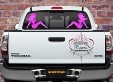 Load image into Gallery viewer, PINSTRIPE PINUP PINK & WHITE