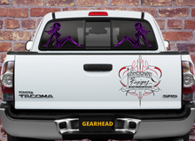 Load image into Gallery viewer, PINSTRIPE PINUP BLACK & PURPLE