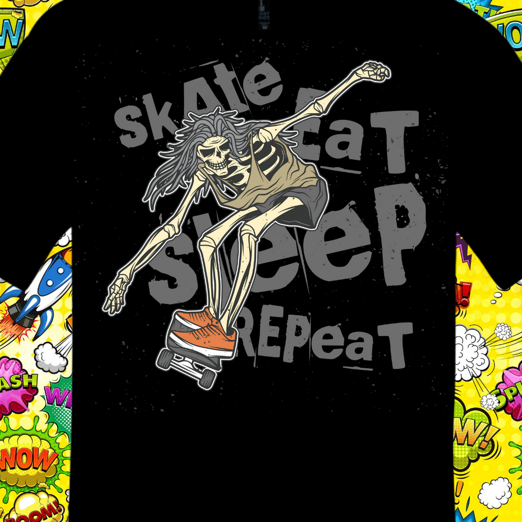 EAT SLEEP SKATE REPEAT