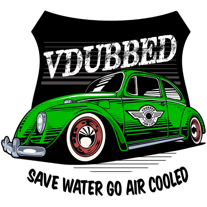 SAVE WATER GO AIR COOLED...green