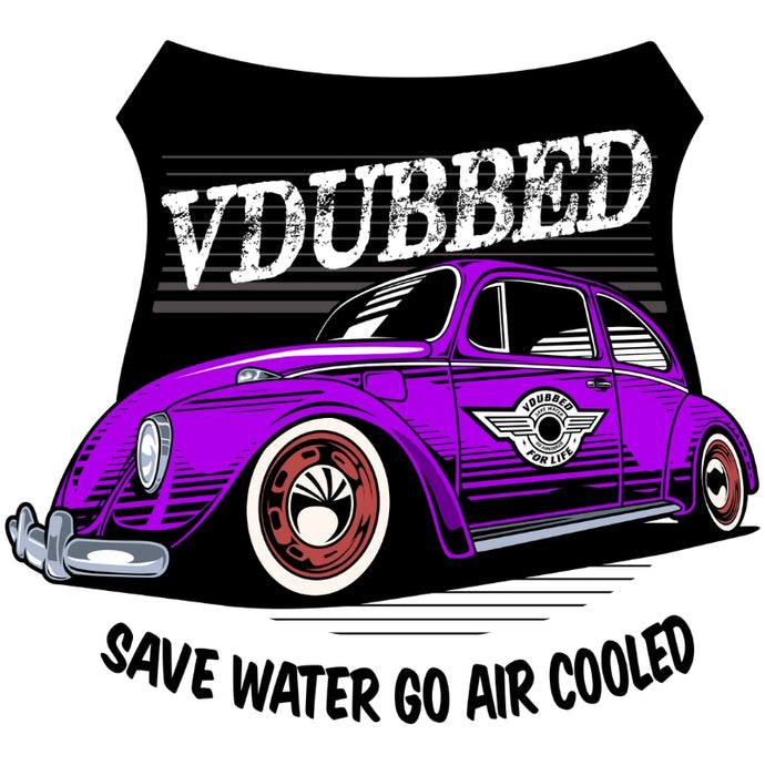 SAVE WATER GO AIR COOLED...purple