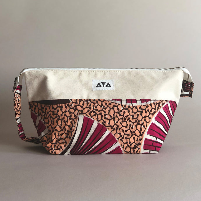 TRAVEL LARGE POUCH [Pink]