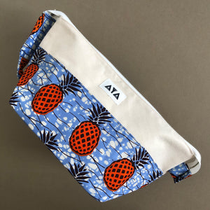 TRAVEL CLUTCH [Orange Pineapple]