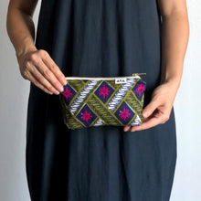 Load image into Gallery viewer, AFRICAN POUCH [Khaki Pink]