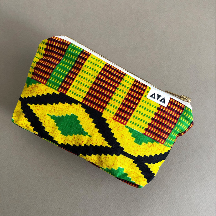 AFRICAN POUCH [Rasta Yellow]