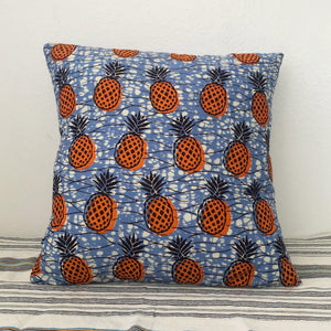CUSHION COVER  [Orange Pineapple]