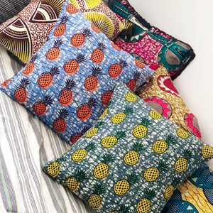 [2pc SET] CUSHION COVERS  [Pineapple mix]