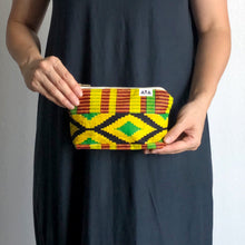 Load image into Gallery viewer, AFRICAN POUCH [Rasta Yellow]