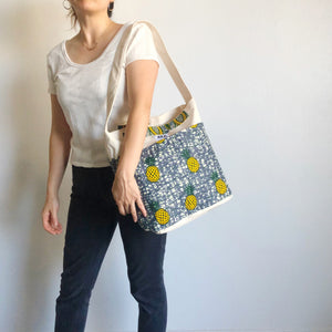 2WAY TOTE BAG [Yellow Pineapple]