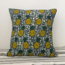 Load image into Gallery viewer, CUSHION COVER  [Yellow Pineapple]