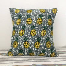 Load image into Gallery viewer, [2pc SET] CUSHION COVERS  [Pineapple mix]